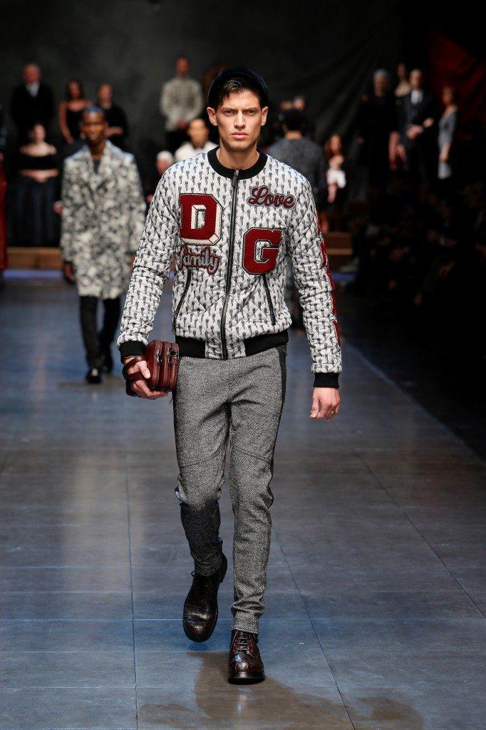 Dolce&Gabbana men show FW 2015-16 #dgfamily