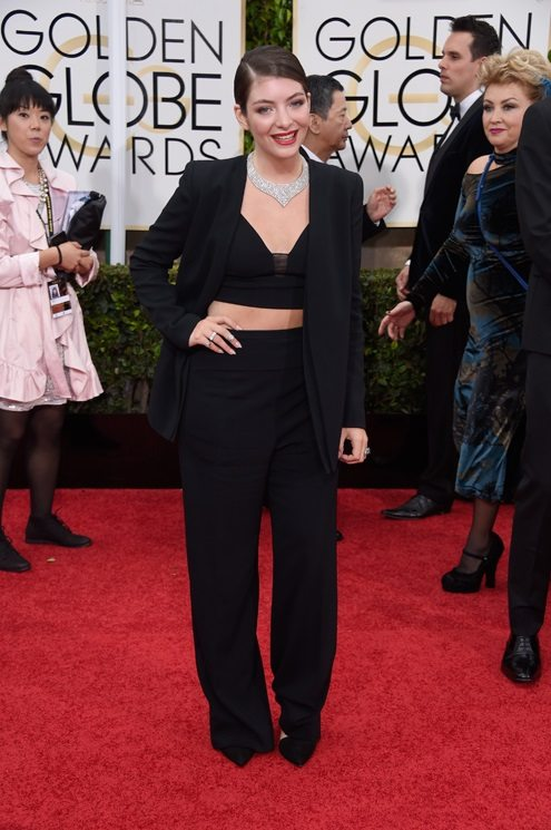 Lorde in Narciso Rodriguez