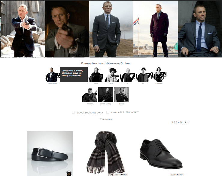 007 outfit Skyfall