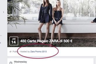 Zara regala 450 gift card da 500 euro
