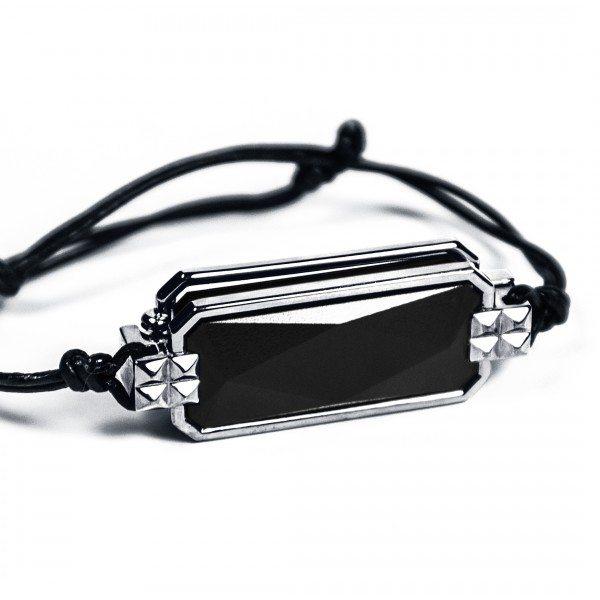 black-silver-bracelet-altruis-kovert design