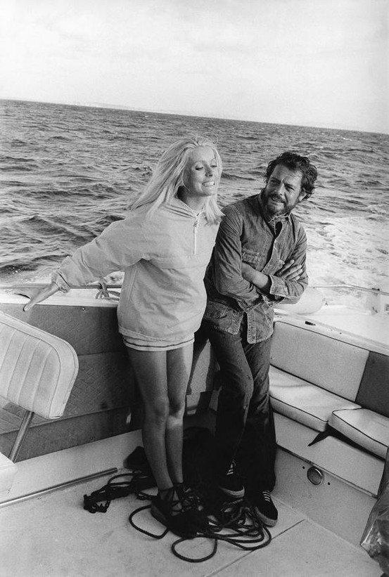 Catherine Deneuve e Marcello Mastroianni