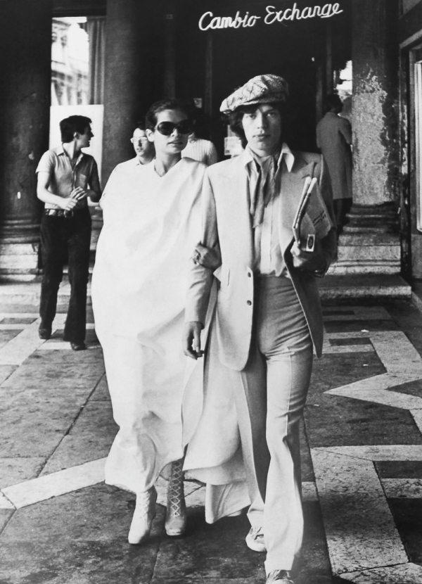 Mick Jagger e Bianca Jagger