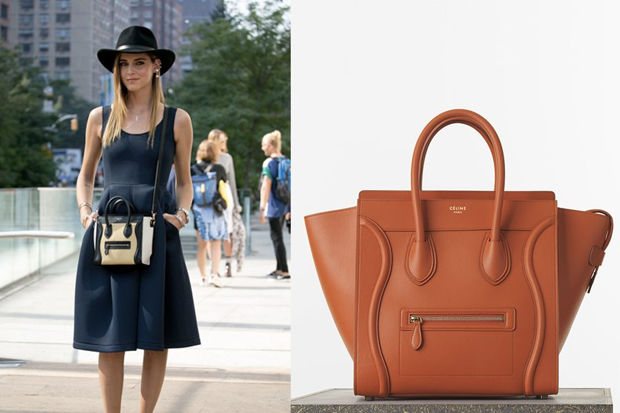 price of celine luggage bag - Borse Primavera Estate 2015: mini size, maxi style - The Wardrobe
