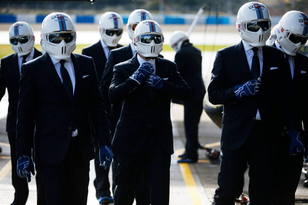 Hackett London Williams F1 Team