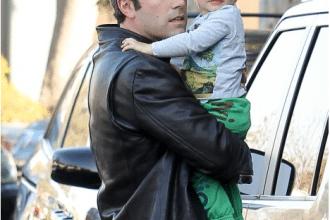 ben affleck con il figlio samuel