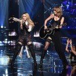 Taylor Swift e Madonna indossano Wolford ai iheartradio music award