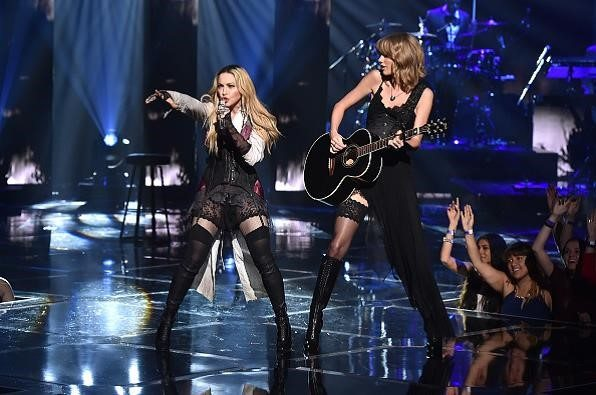 Taylor Swift e Madonna indossano Wolford ai iheartradio music award