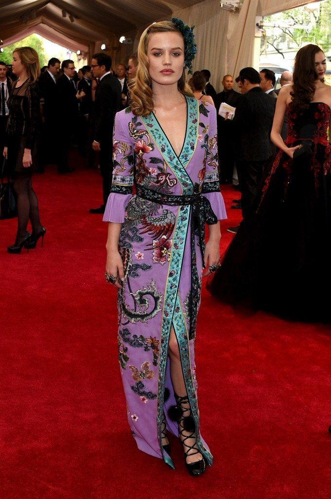 "NEW YORK, NY - MAY 04:  Georgia May Jagger attends the ""China: Through The Looking Glass"" Costume Institute Benefit Gala at the Metropolitan Museum of Art on May 4, 2015 in New York City.  (Photo by Larry Busacca/Getty Images)"
