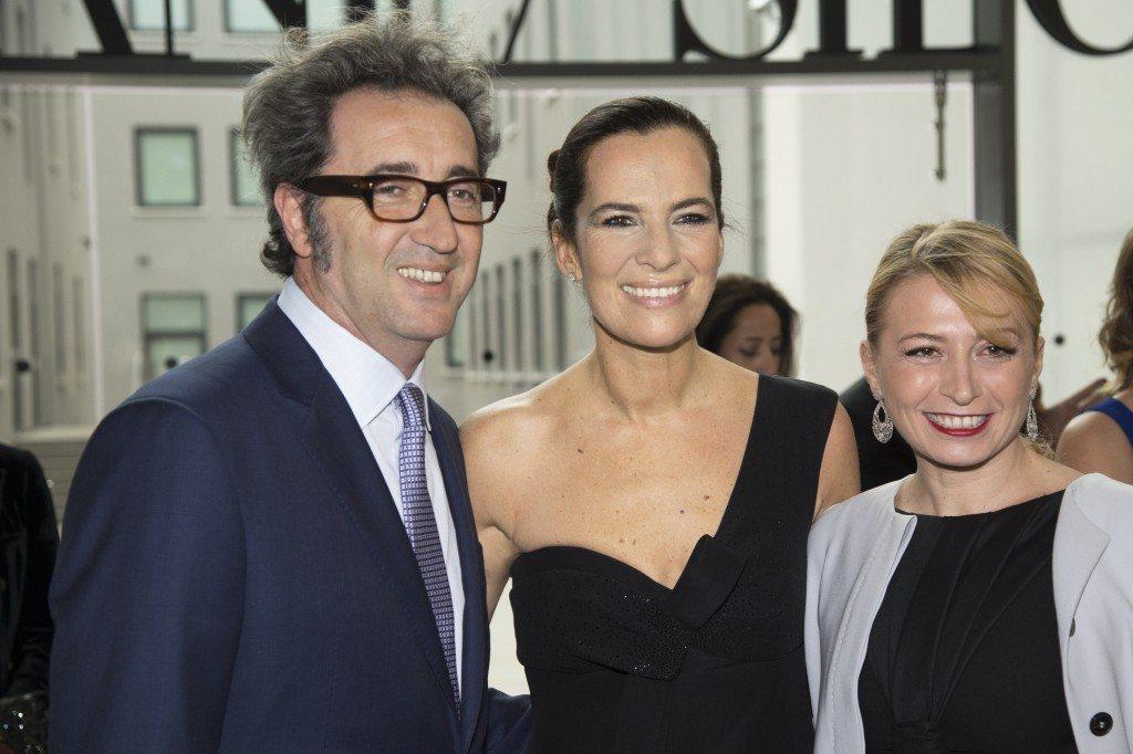 Paolo Sorrentino, Roberta Armani e Daniela Sorrentino