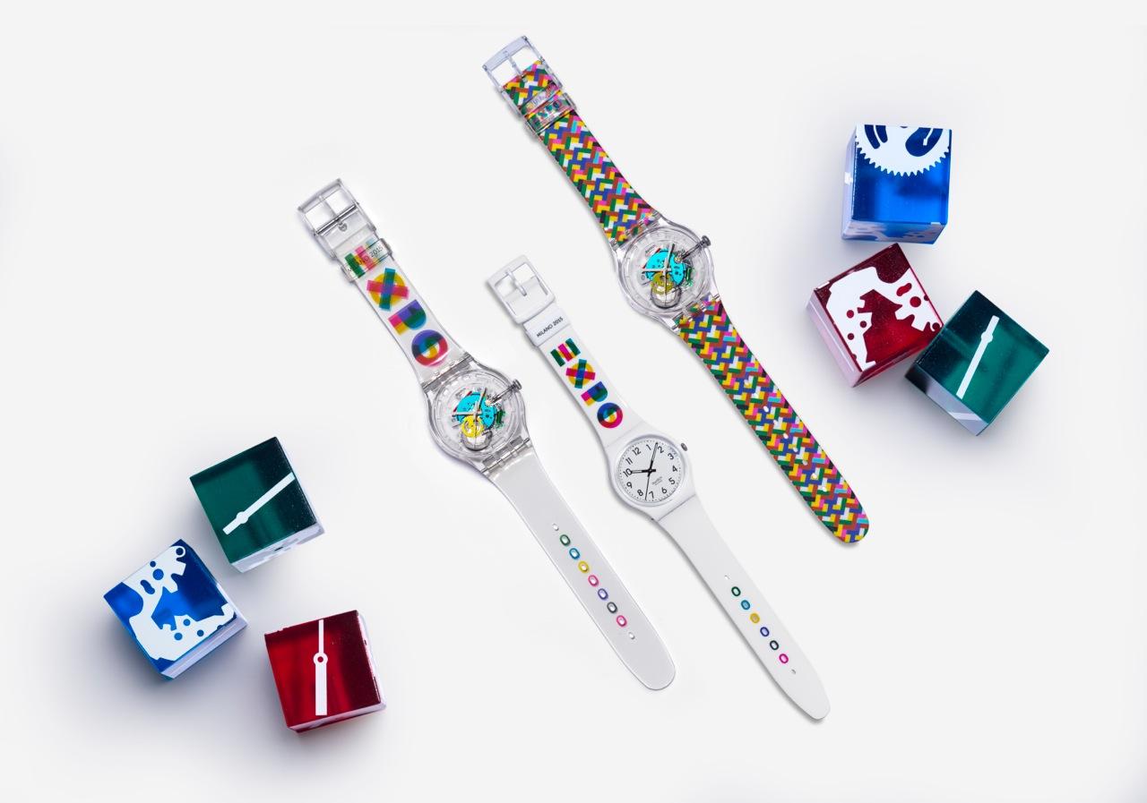 swatch orologi expo