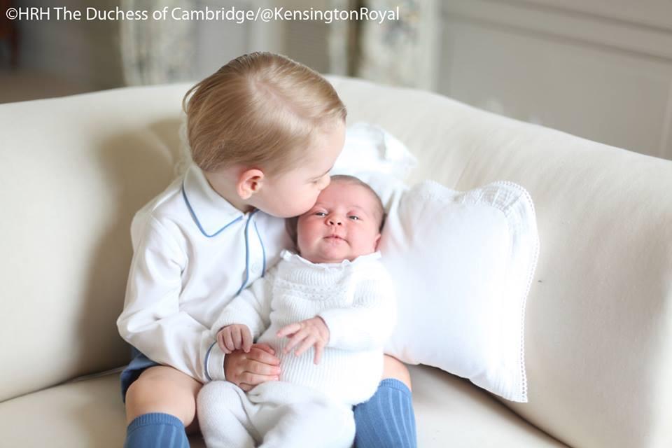 prince george and princess charlotte 2