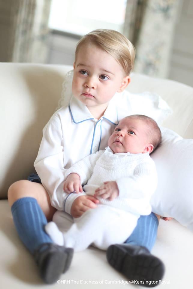 prince george and princess charlotte 4