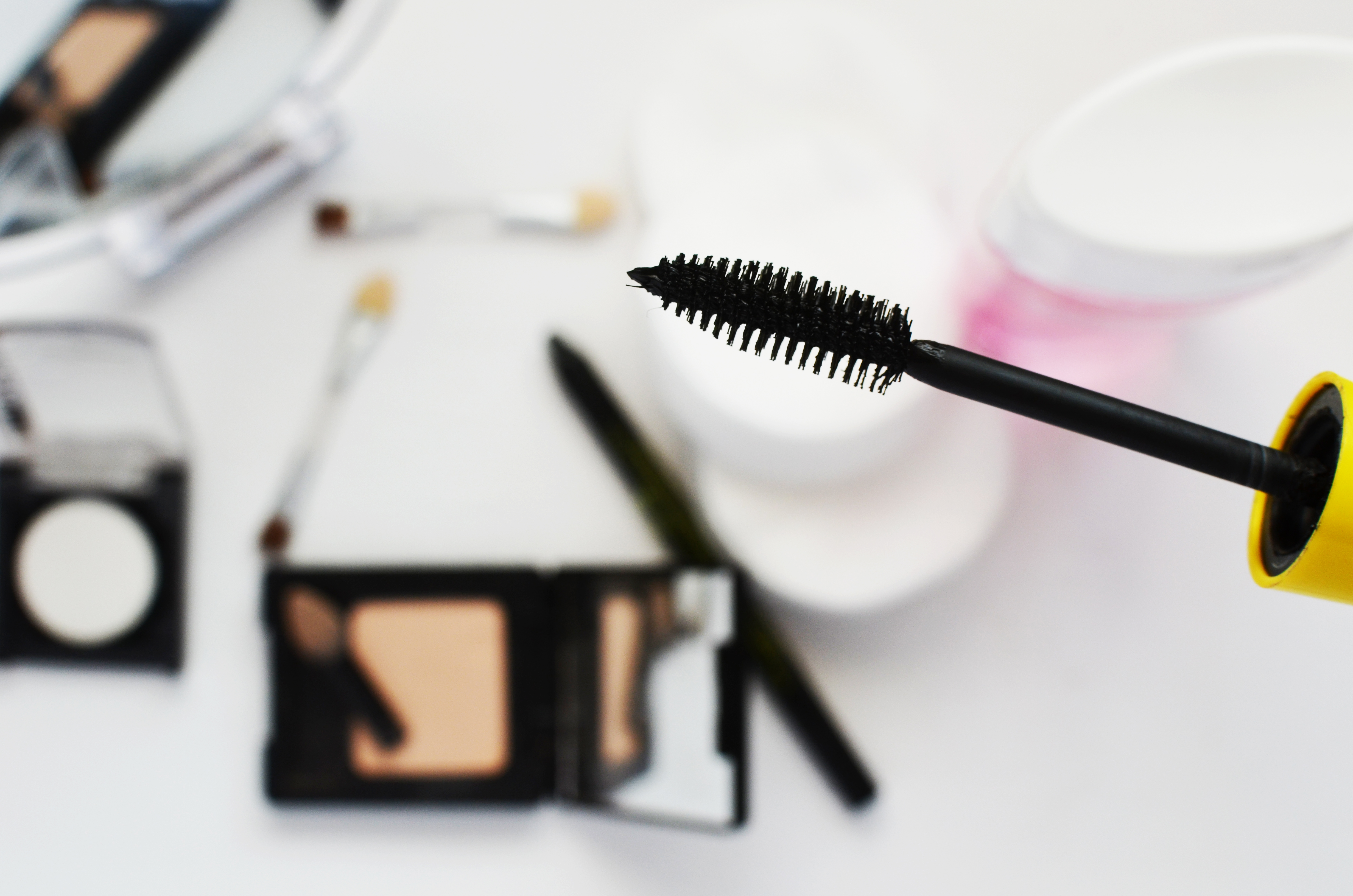 fashion girl makeup paint