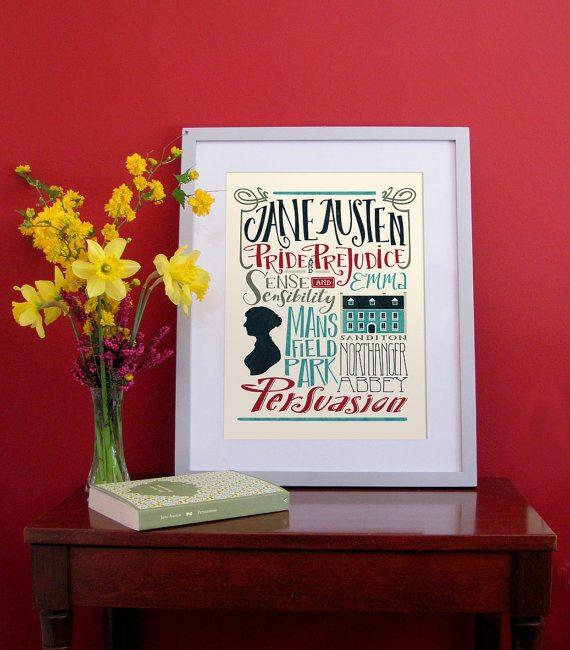 Tema Matrimonio Jane Austen : Jane austen regali a tema per celebrare i anni dalla