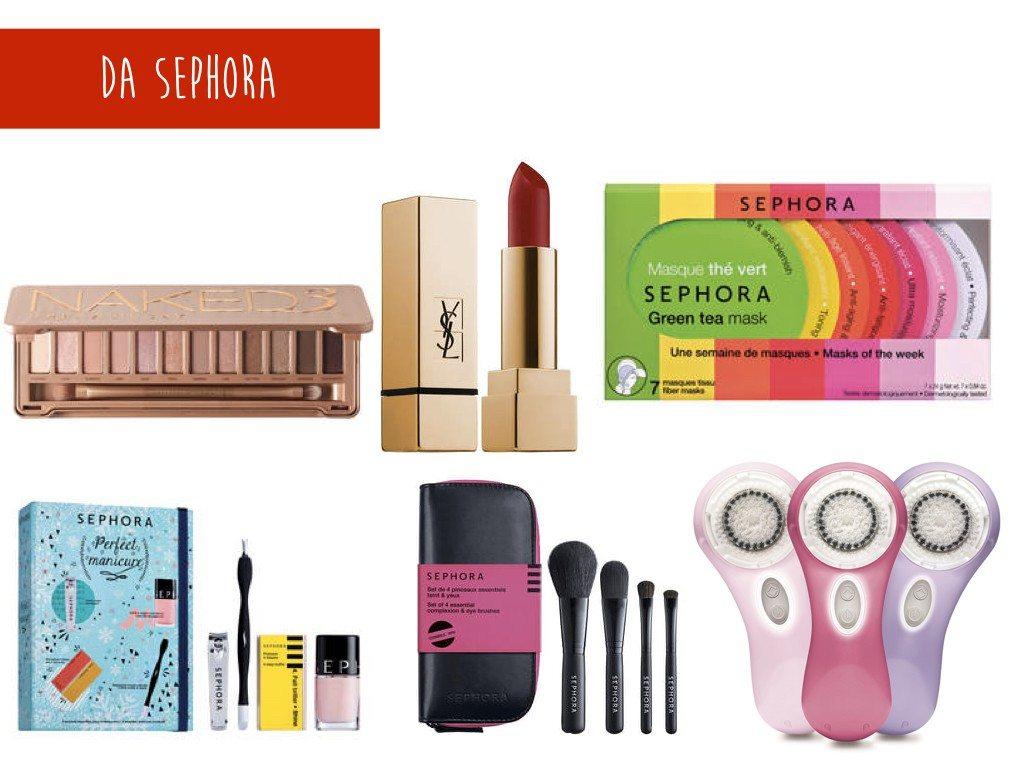 Cosa comprare da Sephora