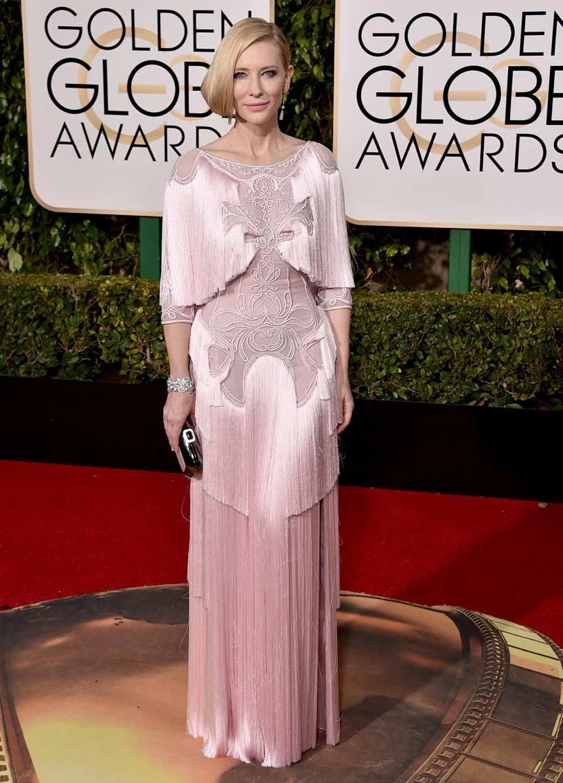 Cate Blanchett in Givenchy - con un abito del genere le perdoniamo perfino la pettinatura approssimativa...