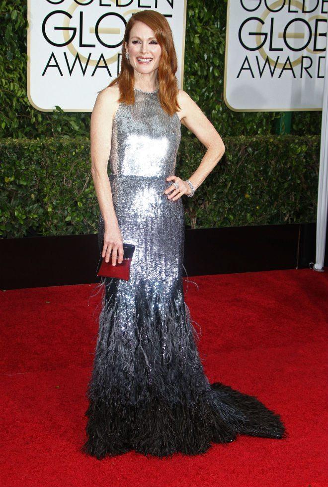 Julianne Moore in Tom Ford - iloro è un matrimonio professionale perfetto, sul red carpet o sul grande schermo