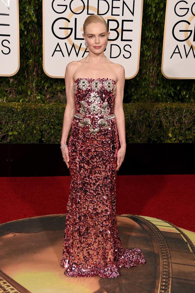 Kate Bosworth in Dolce&Gabbana - una sirena scintillante, una opulenza che glorifica la maestria made in Italy