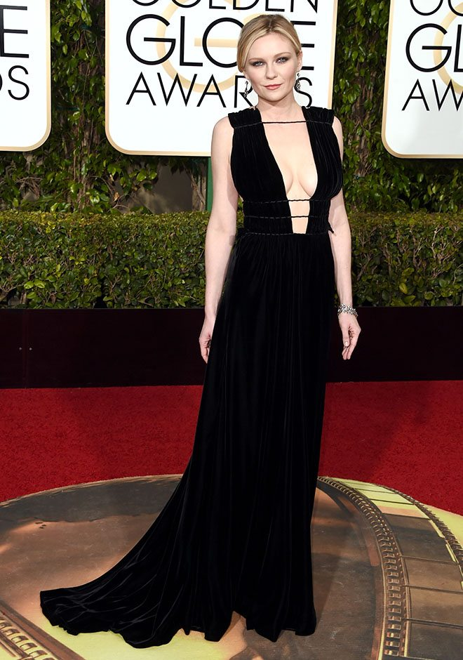 Kirsten Dunst in Valentino - regale e sensuale