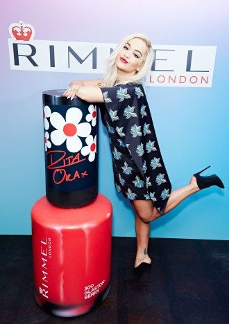 at the Rimmel London Rita Ora Colourfest Launch, London