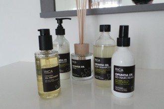 Prodotti per capelli all'olio di fico d'India
