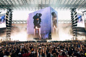 Beyoncé in concerto a Milano