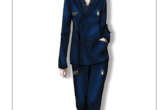 GIORGIO ARMANI DRESSES THE ITALIAN NATIONAL TEAM FOR THE OPENING CEREMONY OF THE RIO 2016 OLYMPIC AND PARALYMPIC GAMES (1)
