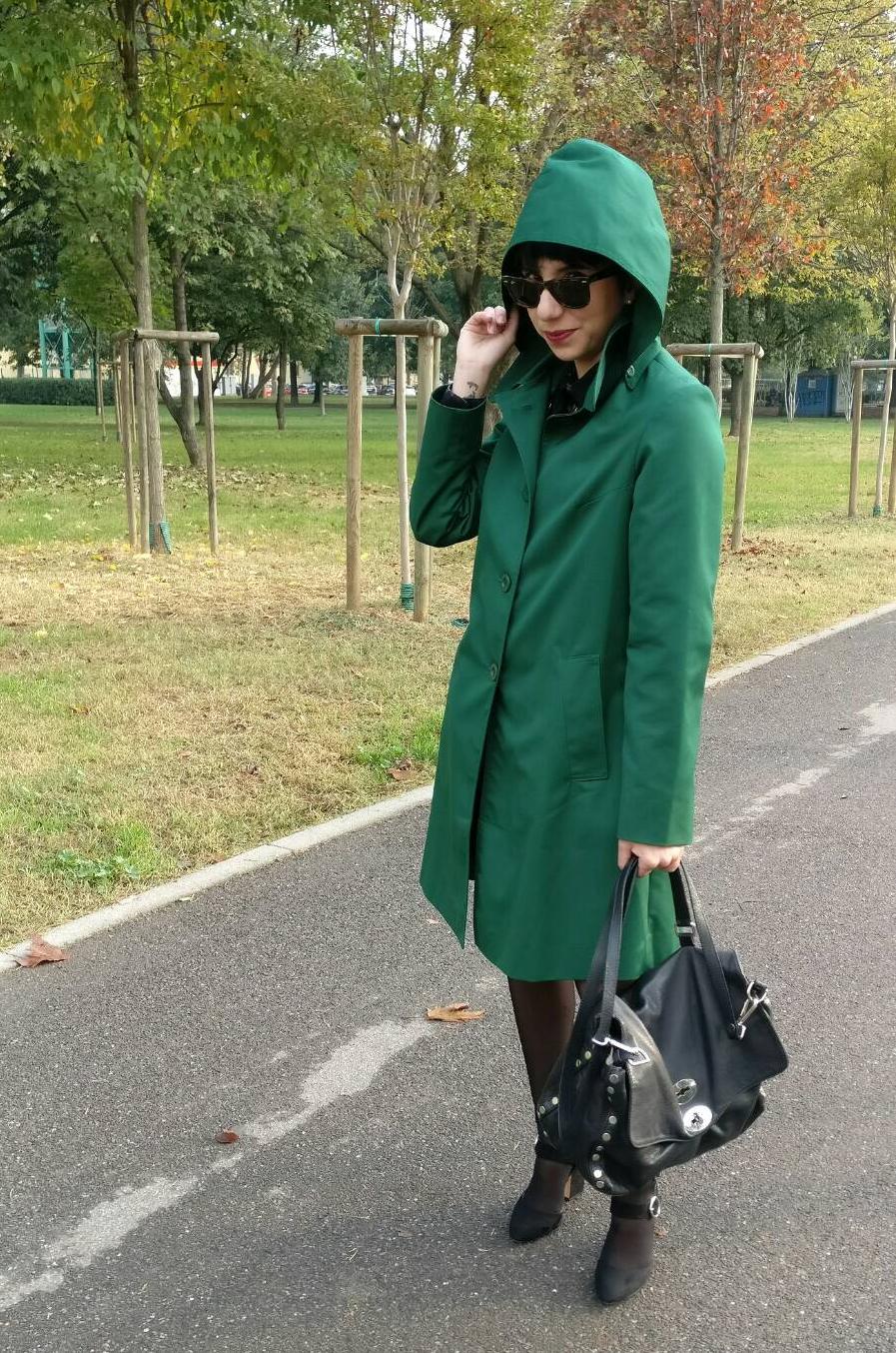 Simona Melani trench liebling