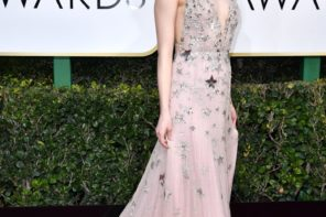 Golden Globe 2017: red carpet scintillante