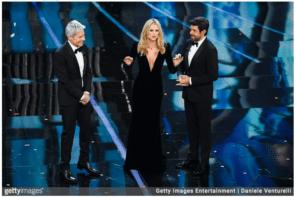 Sanremo 2018, i look della prima serata