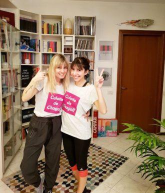 SImona Melani Federica Accio in forma con Fede allenarsi a casa