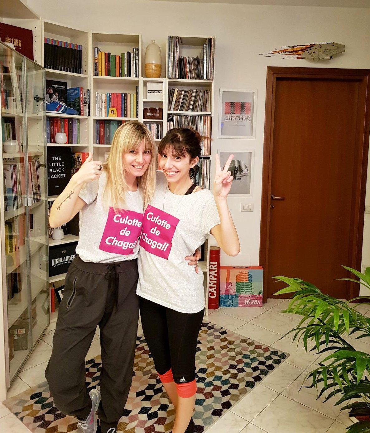 SImona Melani Federica Accio in forma con Fede allenarsi a casa corsi