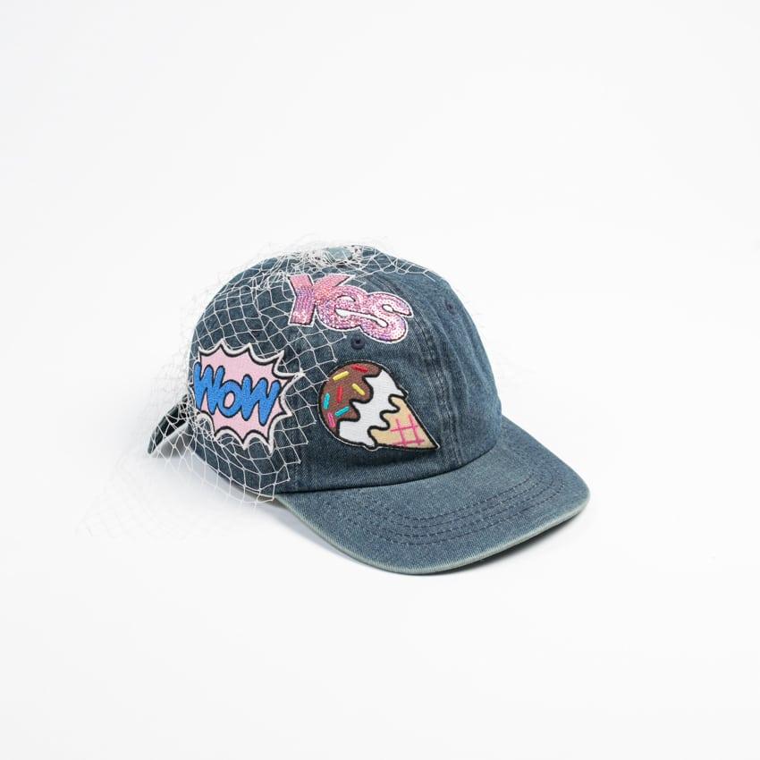 Yuri Ahn cappello baseball