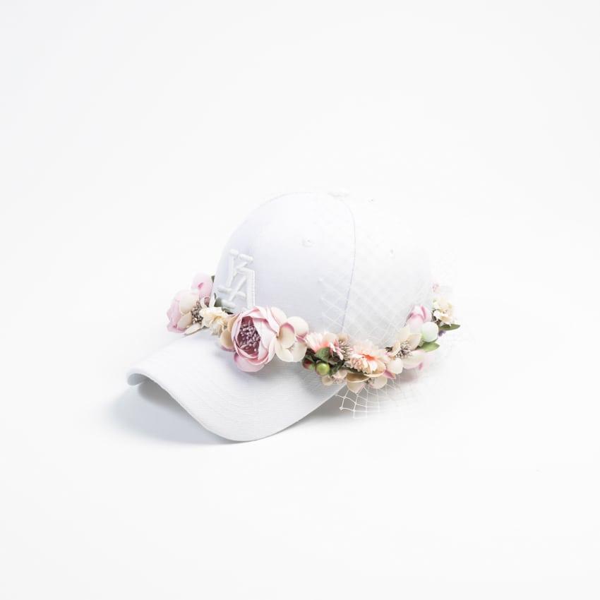 Yuri Ahn cappello baseball sposa