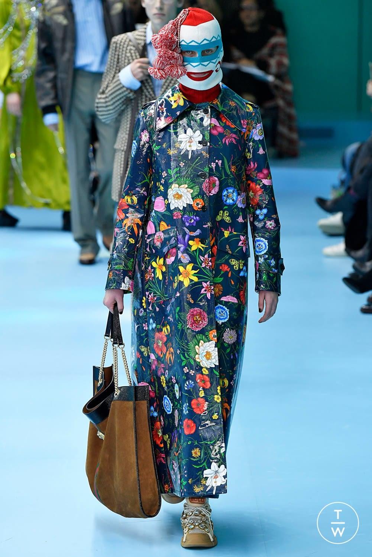 Gucci floral print fantasie di tendenza