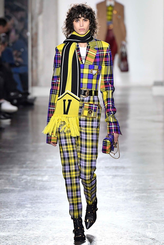 Versace Fantasie di tendenza Tartan