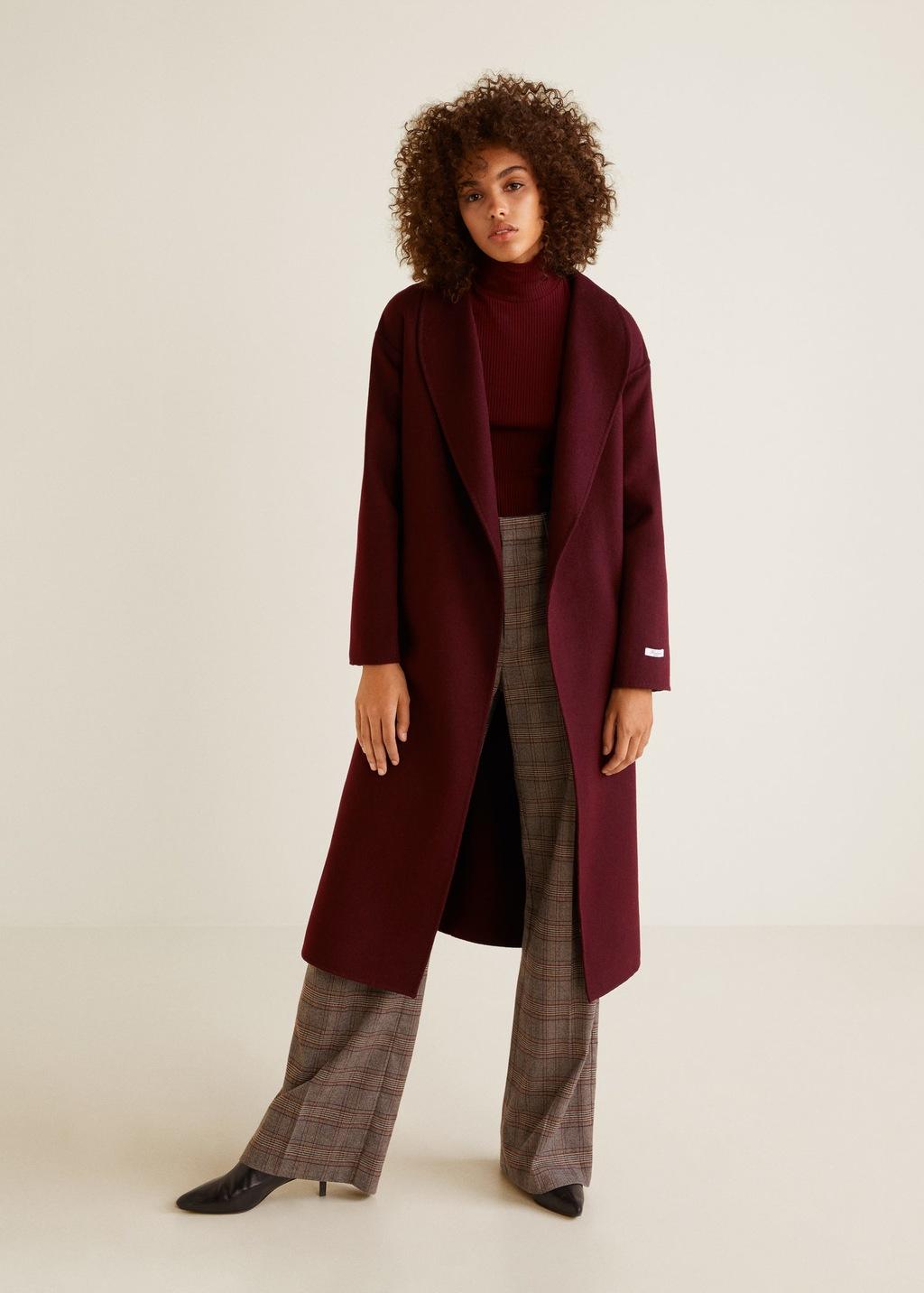 cappotti donna 2018 Mango