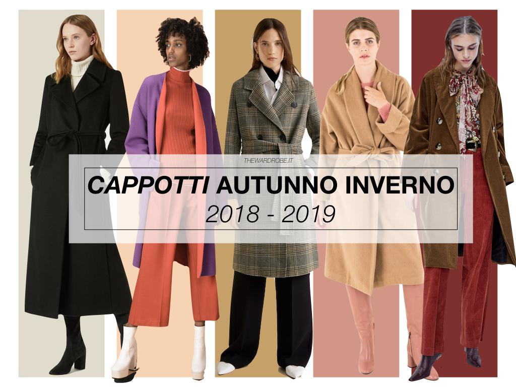 cappotti donna 2018