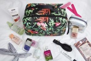 Beauty da viaggio: i miei prodotti per il weekend lungo