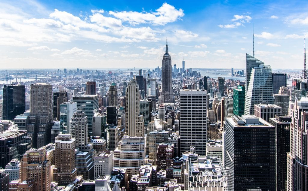 Ponti 2019 - andare a new York