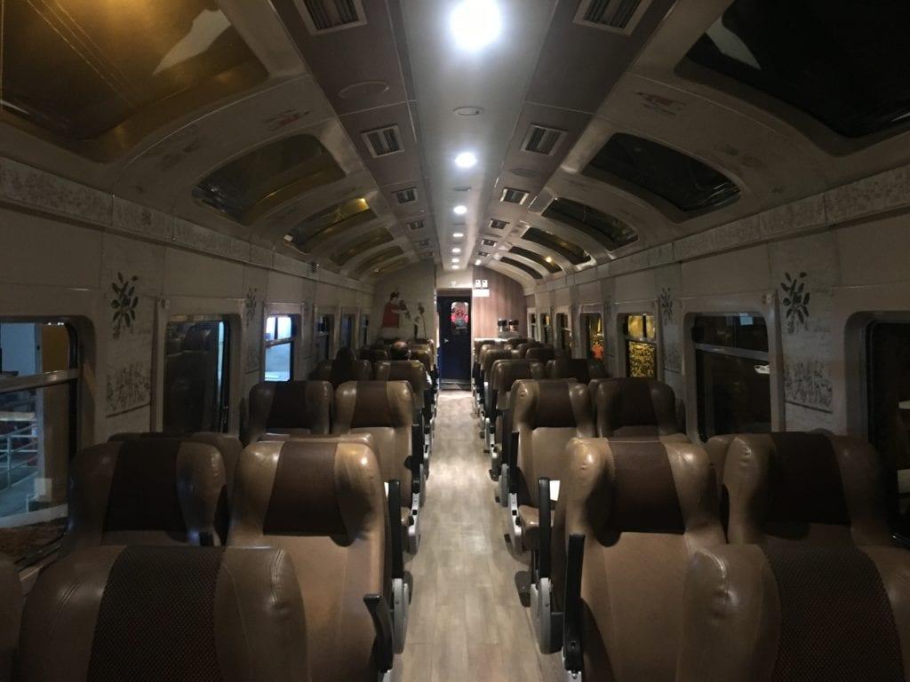 Perù treno notturno panoramico
