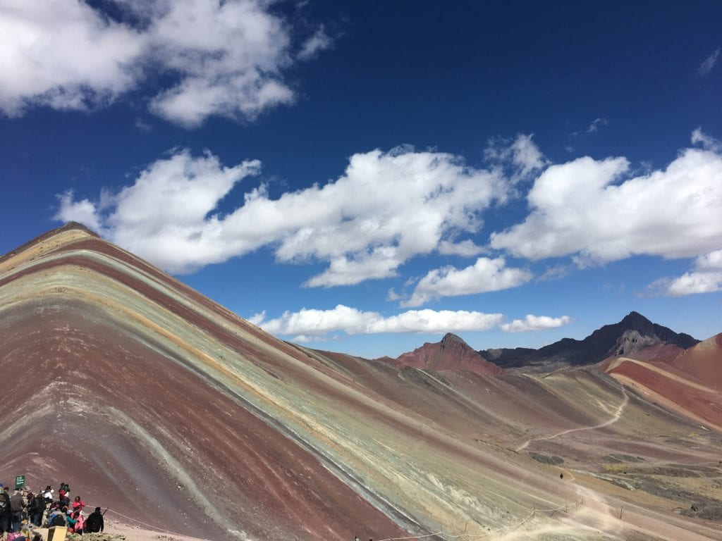 perù montagne Rainbow Mountain