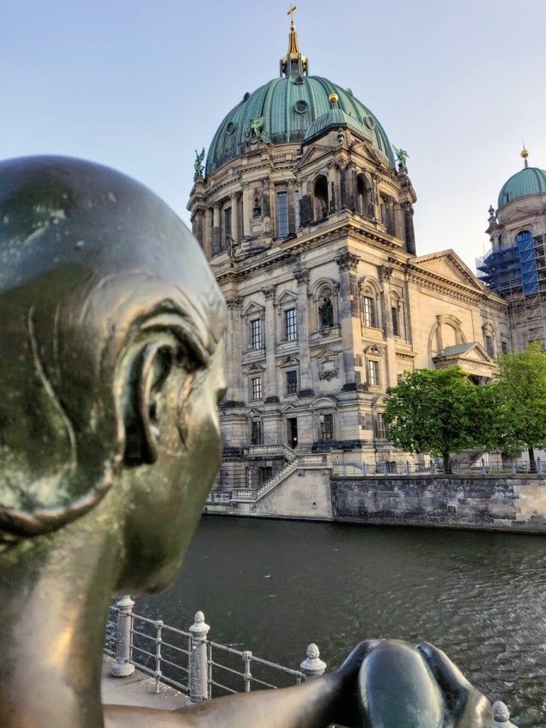 Berlino Dom fiume spree ponti 2020