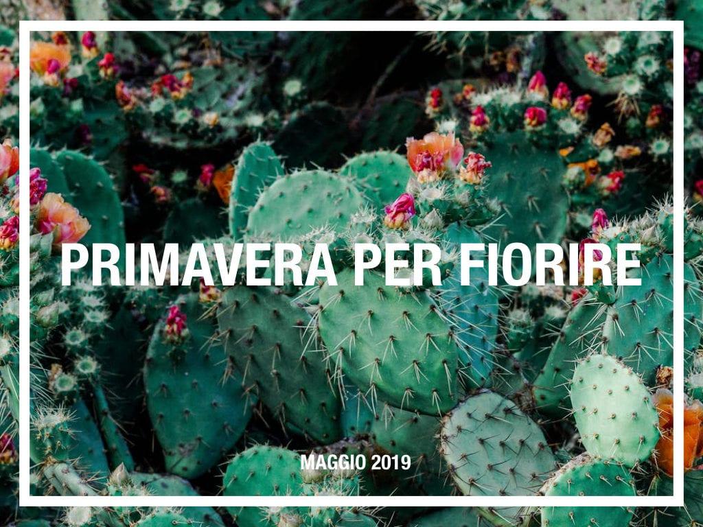 fiorire maggio 2019