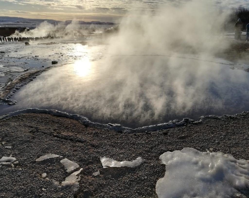 Islanda viaggio geyser