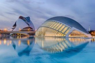Valencia Spagna città della scienza